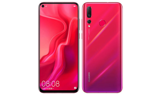 Huawei's New Smartphone Features 48 MP Camera and In-Hole Display 38