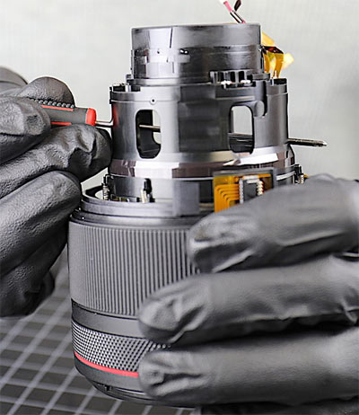 Canon RF 50mm f/1.2L Lens Disassembly Image 3