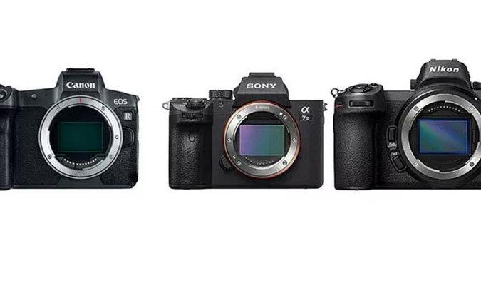 Mirrorless Camera Comparison Image