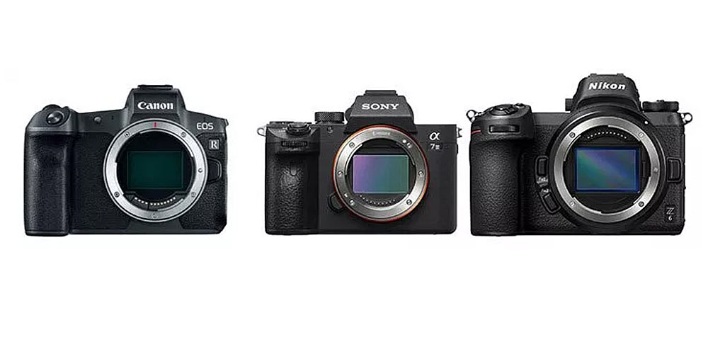 Mirrorless Camera Comparison Image