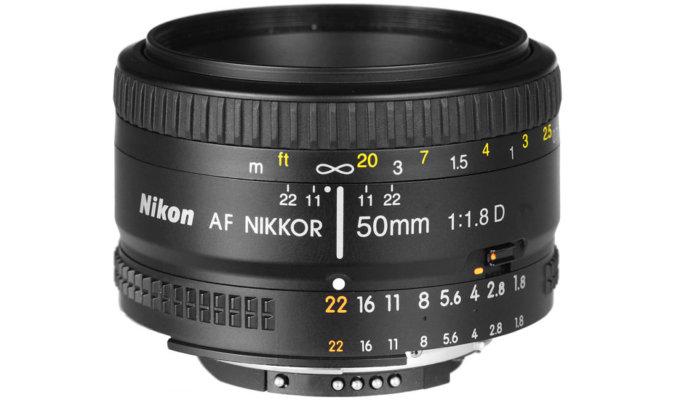 Nikon 50mm f/1.8D AF Image