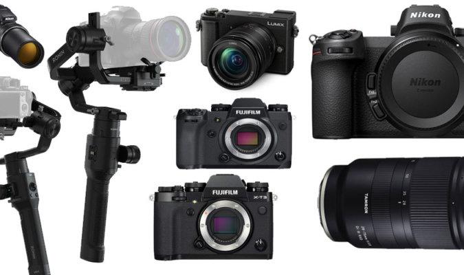 2018 best photography gear