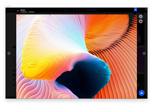 Adobe Unveils New Customizable Behance Profile and Project Pages 4