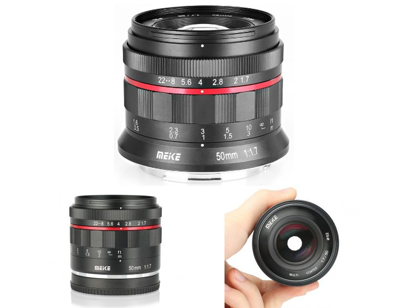Meike Announces Low Budget 50mm f/1.7 Lens for Canon RF and Nikon Z Mirrorless Cameras 2