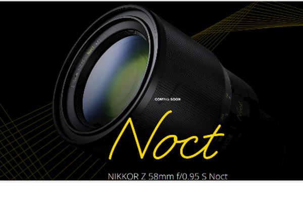 "Fastest NIKKOR Lens Ever ""Coming Soon"" 3"