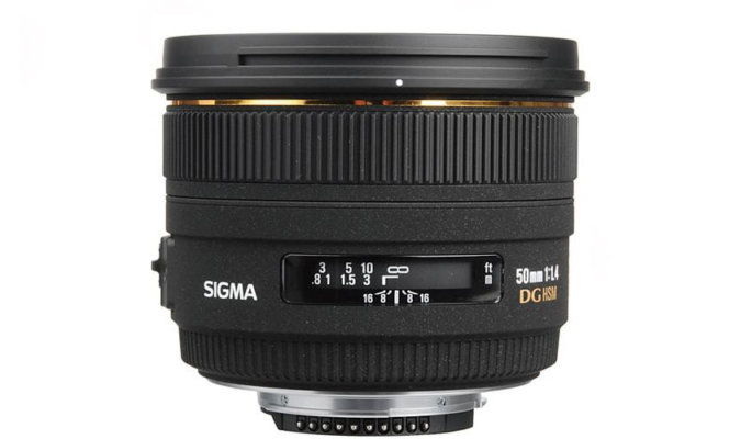 Sigma 50mm f/1.4 EX DG HSM Image