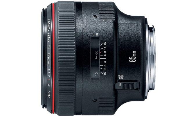 Canon 85mm f/1.2L II Image