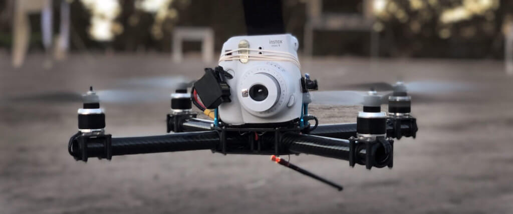 How To Make An Instant Camera Drone - LUMOID