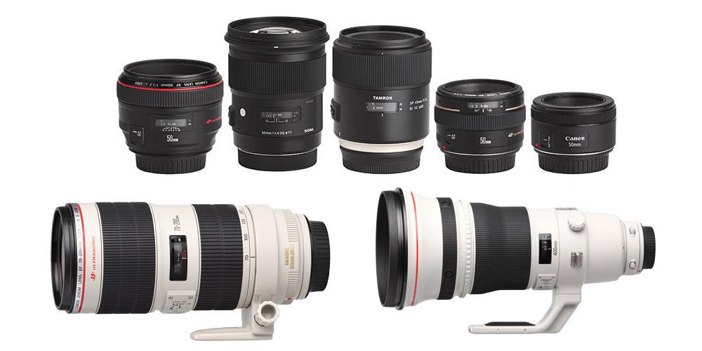 Zoom Lenses vs. Prime Lenses Image