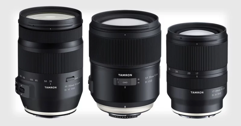 Tamron Announces Three Lenses for Full-Frame DSLRs and Mirrorless Cameras 1