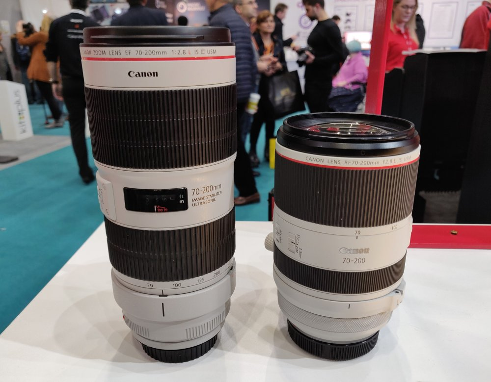 Canon's Trinity & Two Other RF Lenses Make European Debut at TPS 3