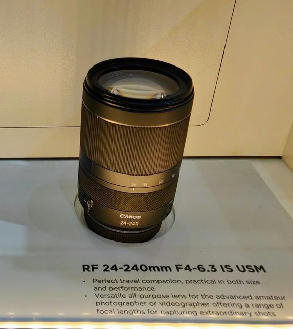 Canon's Trinity & Two Other RF Lenses Make European Debut at TPS 5