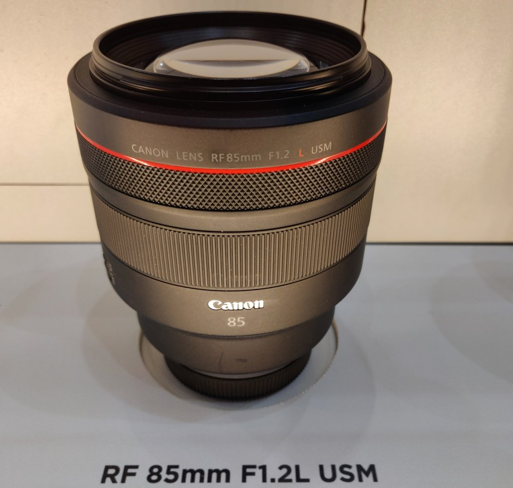 Canon's Trinity & Two Other RF Lenses Make European Debut at TPS 4