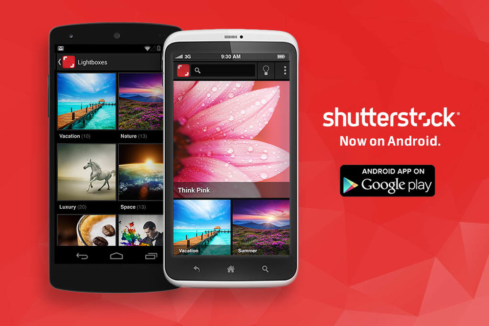 Content Makers Can Now Register from Their Smartphones with Shutterstock App 2