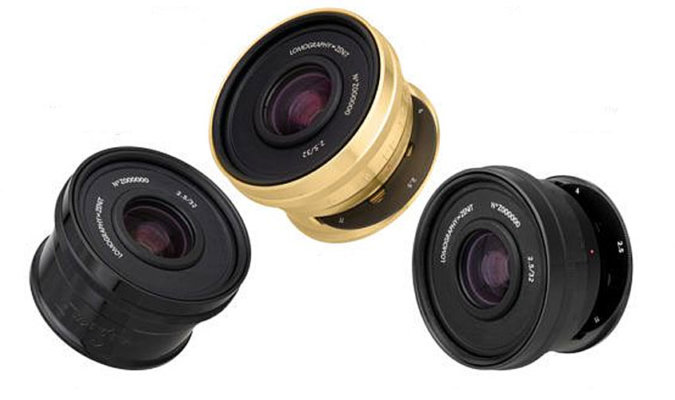 Lomogon 2.5/32 Art Lens Image