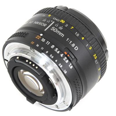 Nikon AF NIKKOR 50mm f/1.4D Image 2