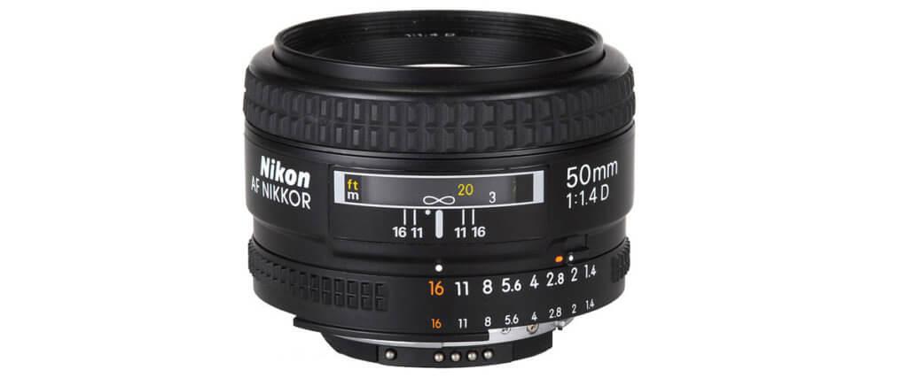 Nikon AF NIKKOR 50mm f/1.4D Image