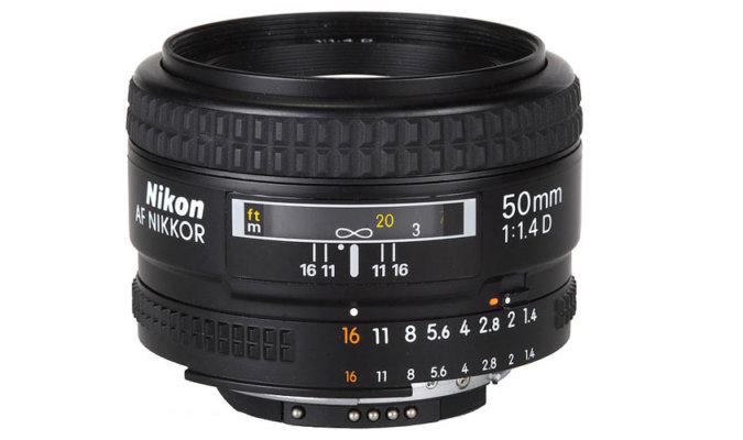 Nikon 50mm f/1.4 D Image