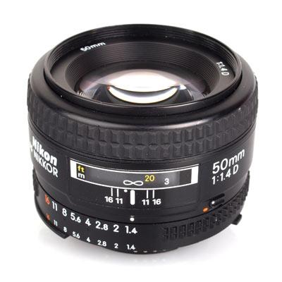 Nikon AF NIKKOR 50mm f/1.4D Image 3