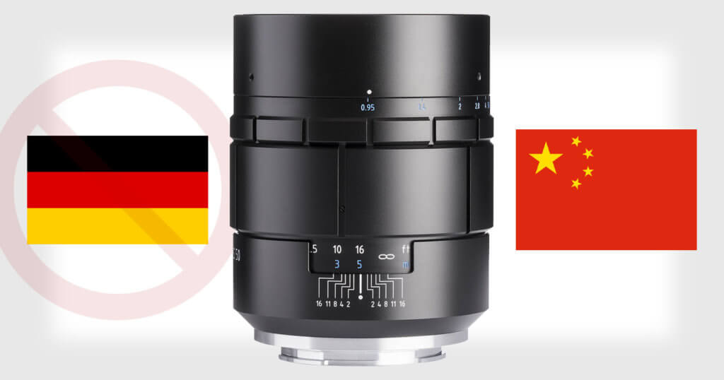The Nocturnus from Meyer Optik Gorlitz Was Just a Modified Version of a Chinese Lens 1