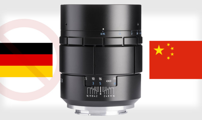 The Nocturnus from Meyer Optik Gorlitz Was Just a Modified Version of a Chinese Lens 50