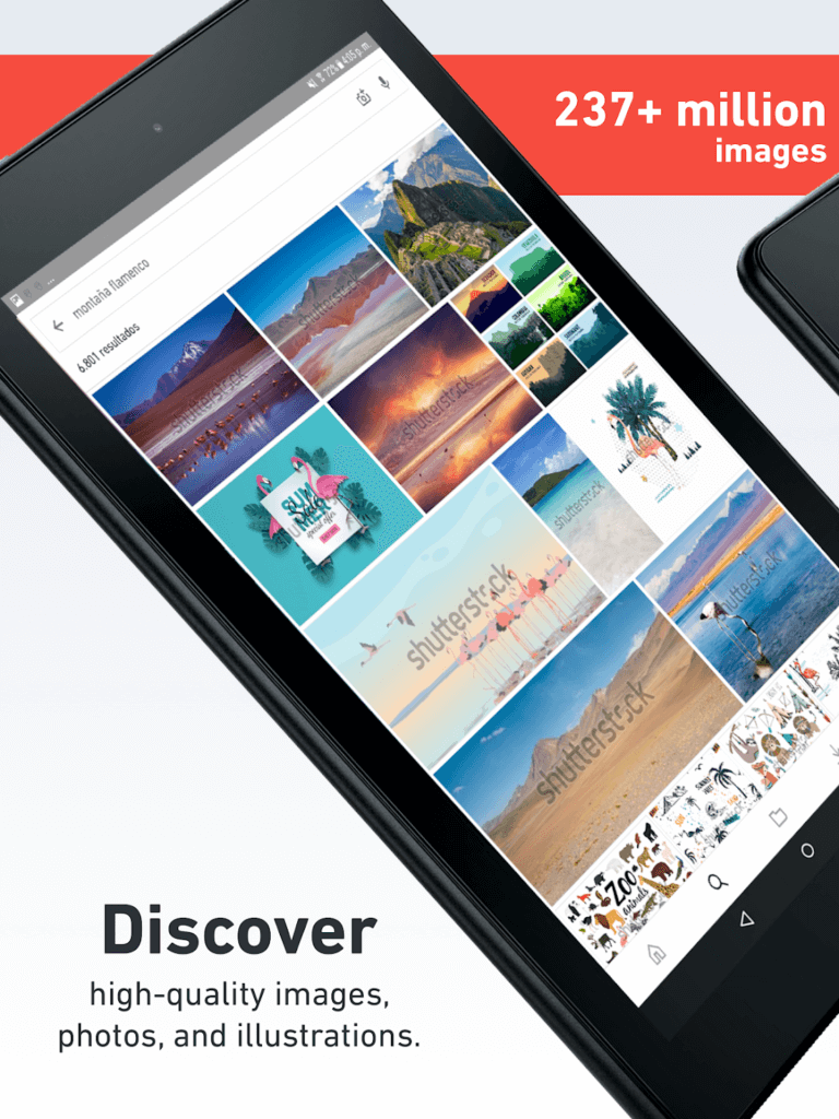 Content Makers Can Now Register from Their Smartphones with Shutterstock App 1