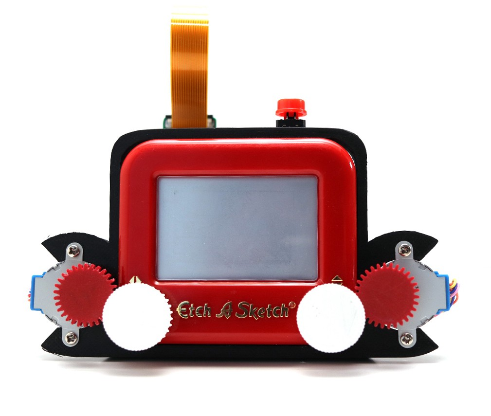 Raspberry Pi Project Turns into an Etch-A-Snap Camera 1