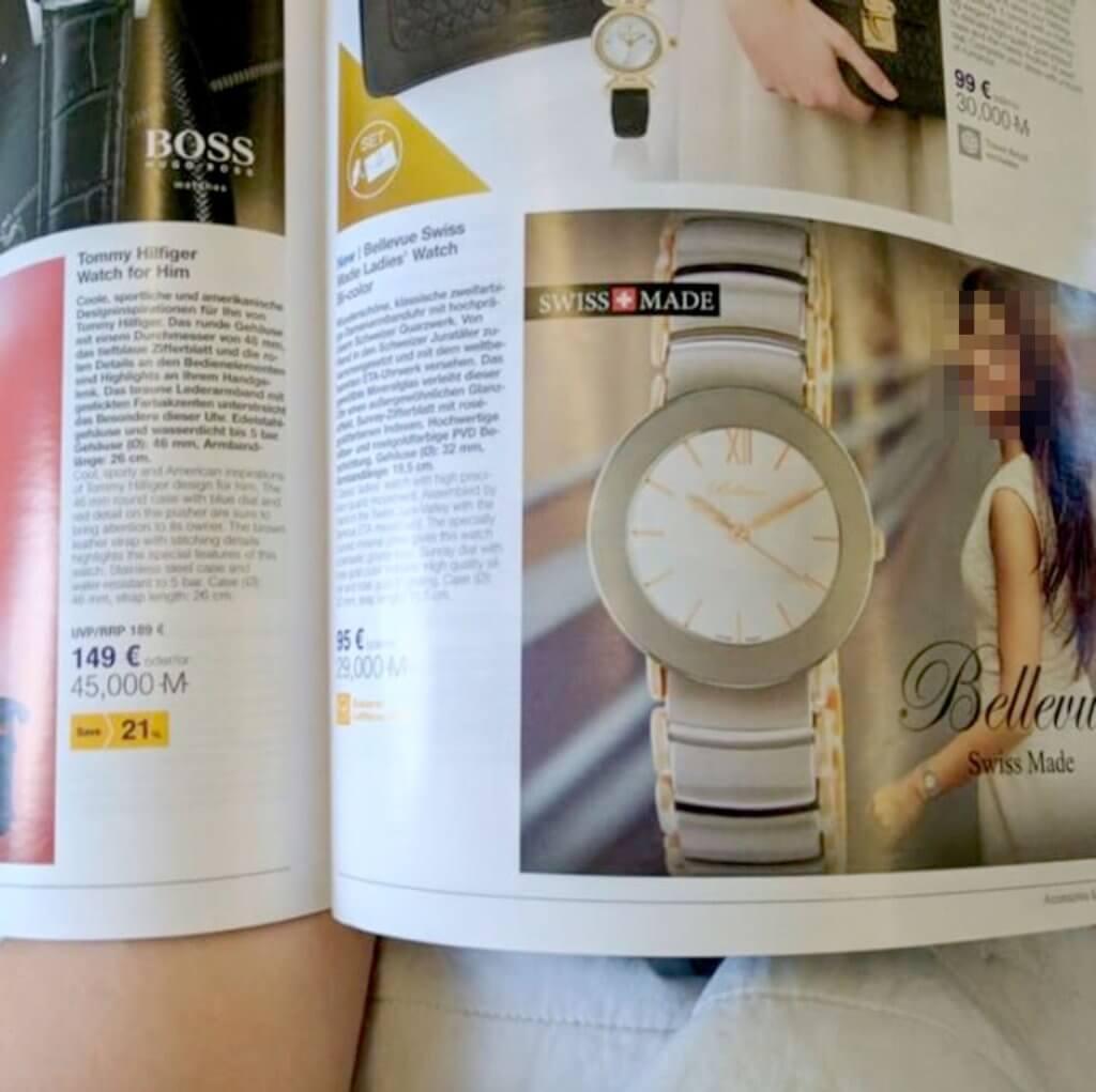 Photographer's Photo Stolen by Lufthansa In-Flight Magazine Advertisement 2