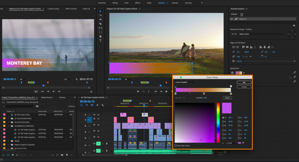 New Tools Added to the Latest Adobe Premiere Pro Update 1