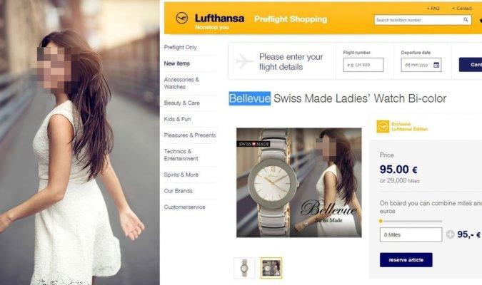 Photographer's Photo Stolen by Lufthansa In-Flight Magazine Advertisement 78