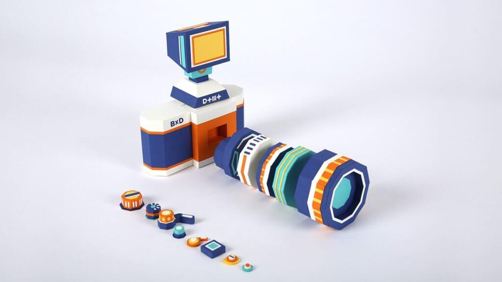 Meet DOTMOT: The Camera Kit Replica Made Entirely of Paper 2