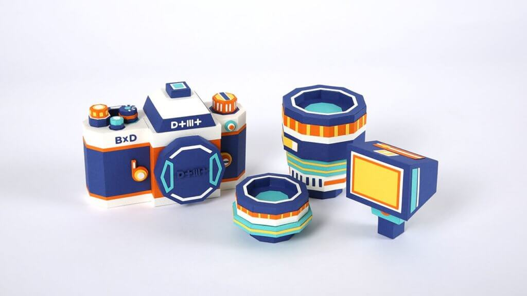 Meet DOTMOT: The Camera Kit Replica Made Entirely of Paper 1