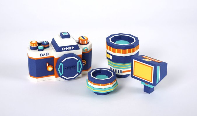 Meet DOTMOT: The Camera Kit Replica Made Entirely of Paper 28