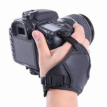 Movo HSG-2 DualStrap Padded Wrist And Grip Camera Strap Image