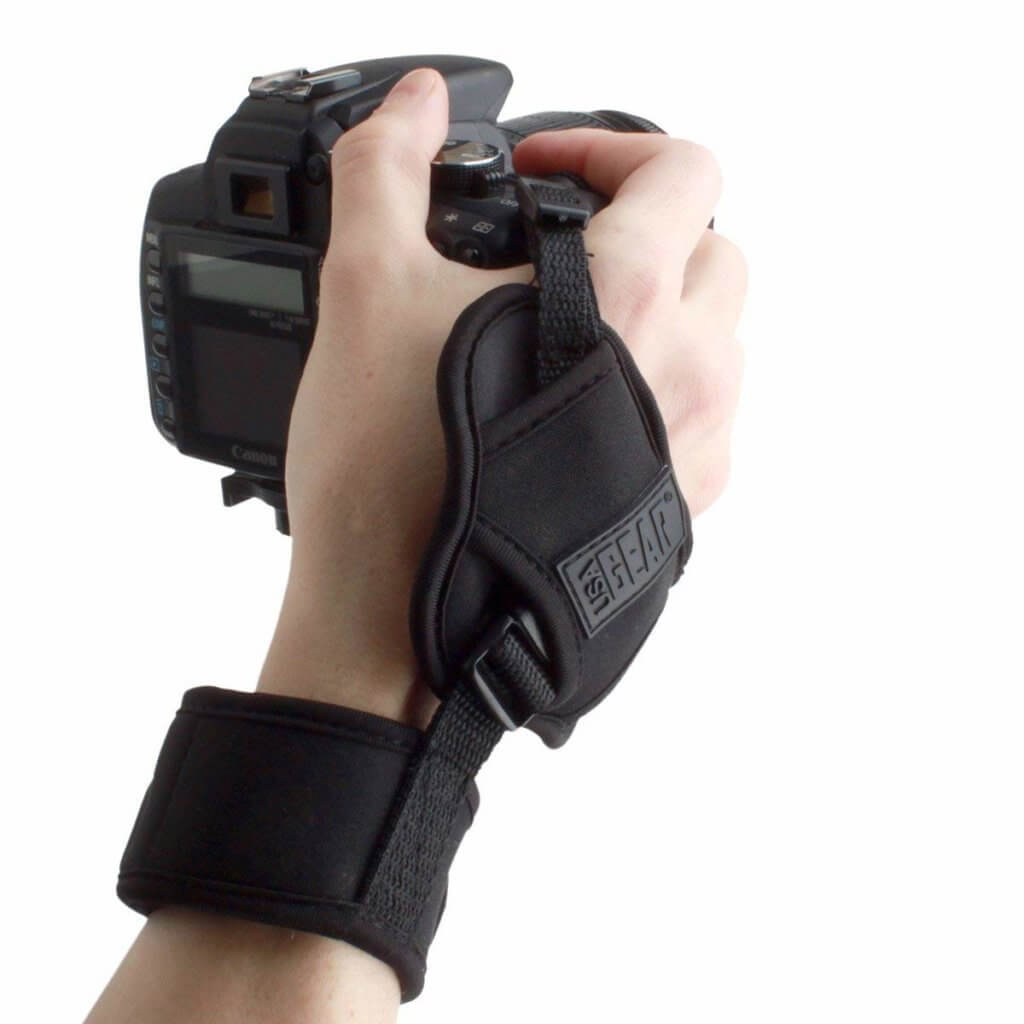USA Gear Professional Camera Grip Hand Strap Image