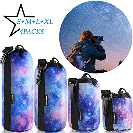 XCSOURCE Lens Case Protective Pouch Bag Set Image