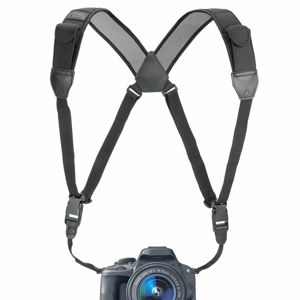 USA GEAR DSLR Camera Strap Chest Harness Image