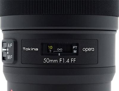 Tokina Opera 50mm f/1.4 FF Image 2