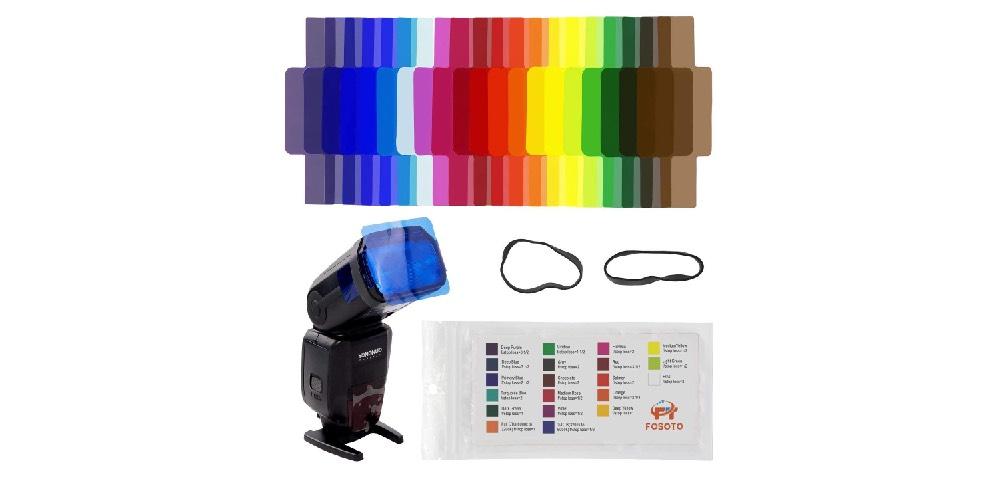 Fosoto Speedlite Color Gels Image
