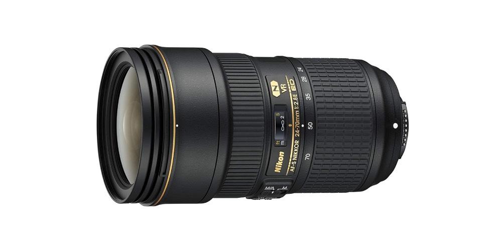 Nikon AF-S FX NIKKOR 24-70mm f/2.8E ED Vibration Reduction Zoom sports Lens