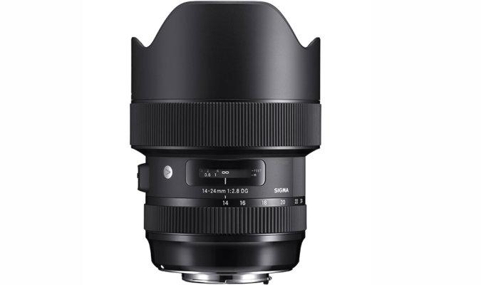 Sigma 14-24mm f-2.8 DG HSM Art Lens Image