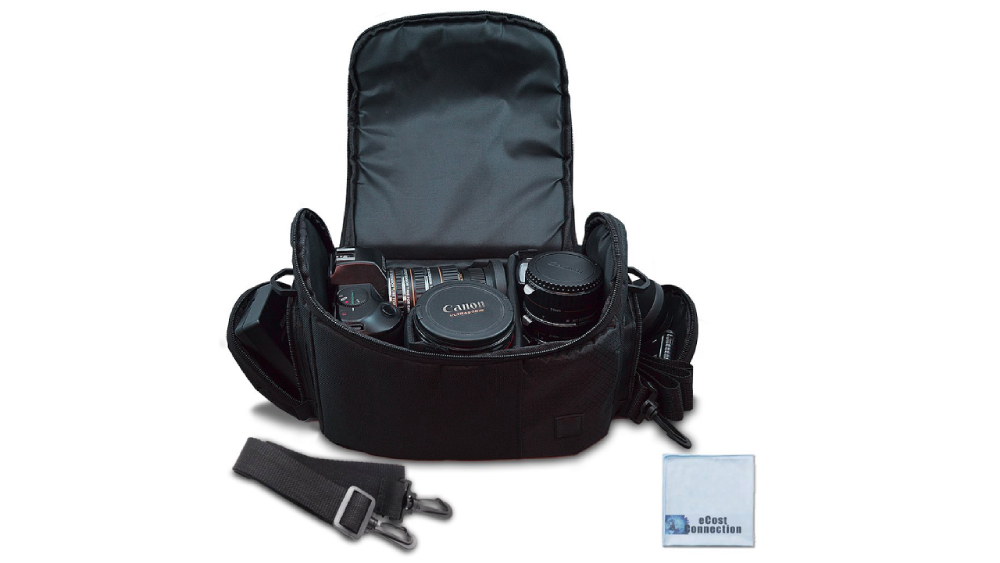eCostConnection Large Digital Camera/Video Padded Bag Image