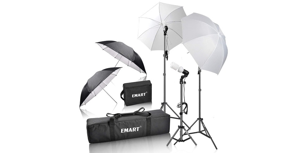 Emart 600W Photography Photo Video Portrait Studio Day Light Umbrella