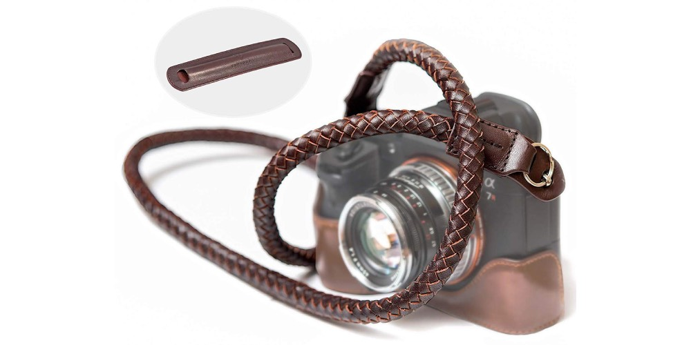 SupaDupa Leather Braided Camera Strap Image