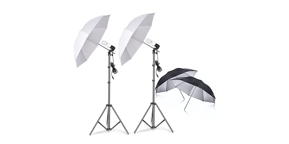 Slow Dolphin Photography Umbrella Lighting Kit Image