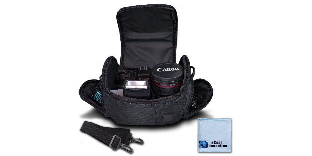 eCostConnection Medium Soft Padded Camera Equipment Bag Image