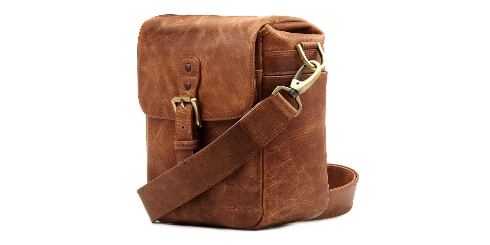 MegaGear Torres Mini Genuine Leather Camera Messenger Bag Image