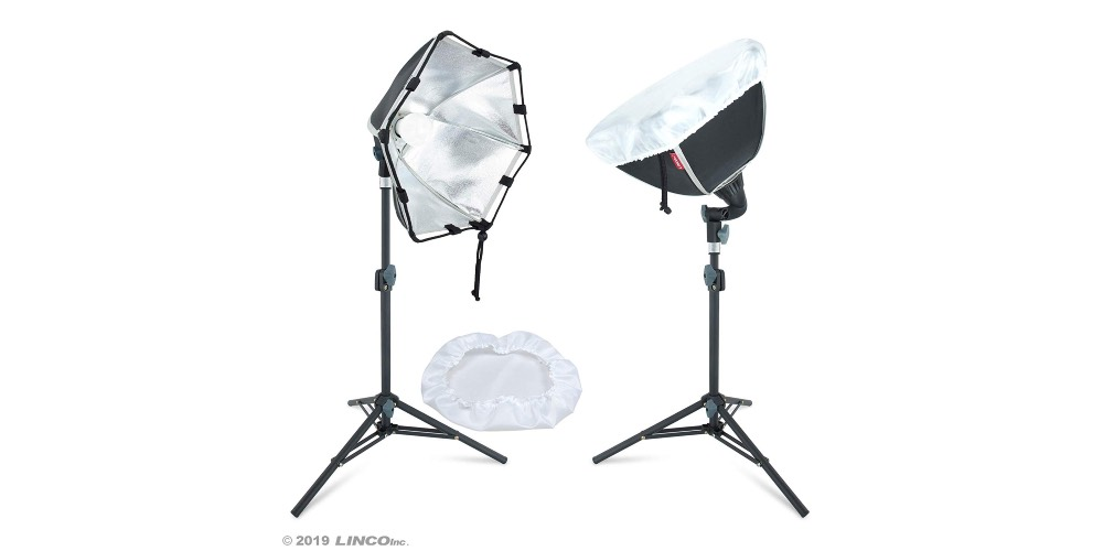 Linco Lincostore Photography Photo Table Top Studio Lighting Kit Image
