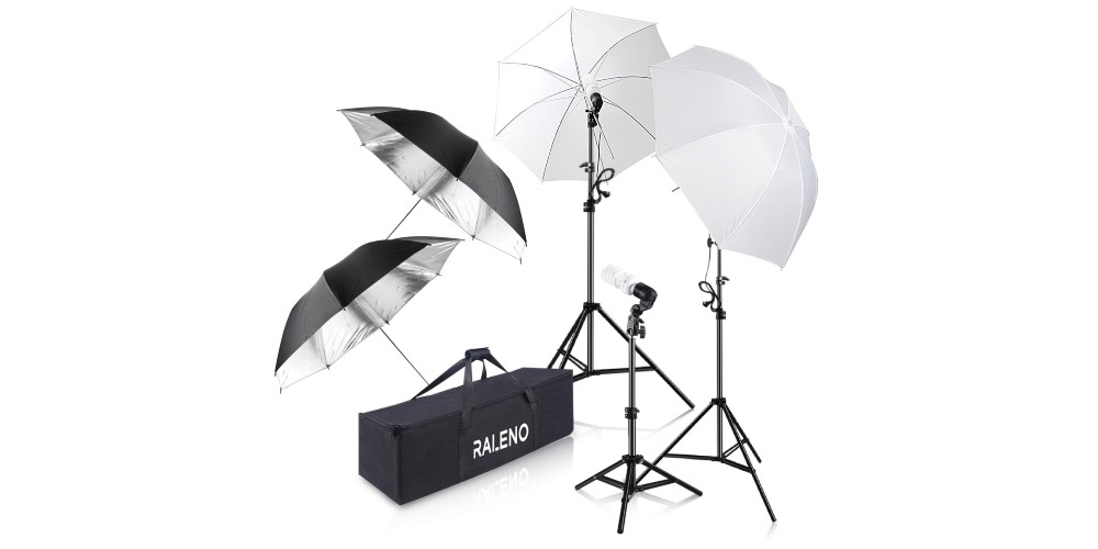 RaLeno Photography Umbrella Lighting Kit Image