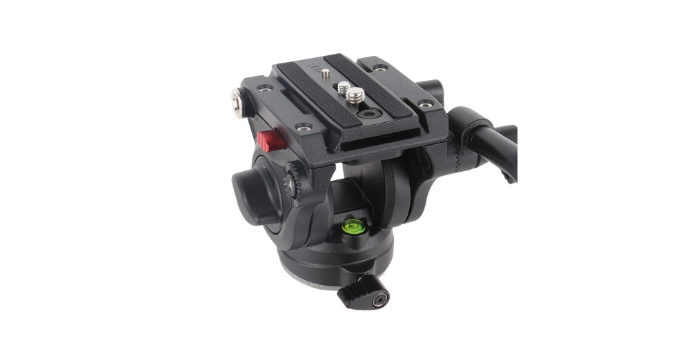 Avella V501 Video Camera Tripod Fluid Drag Pan Head Image